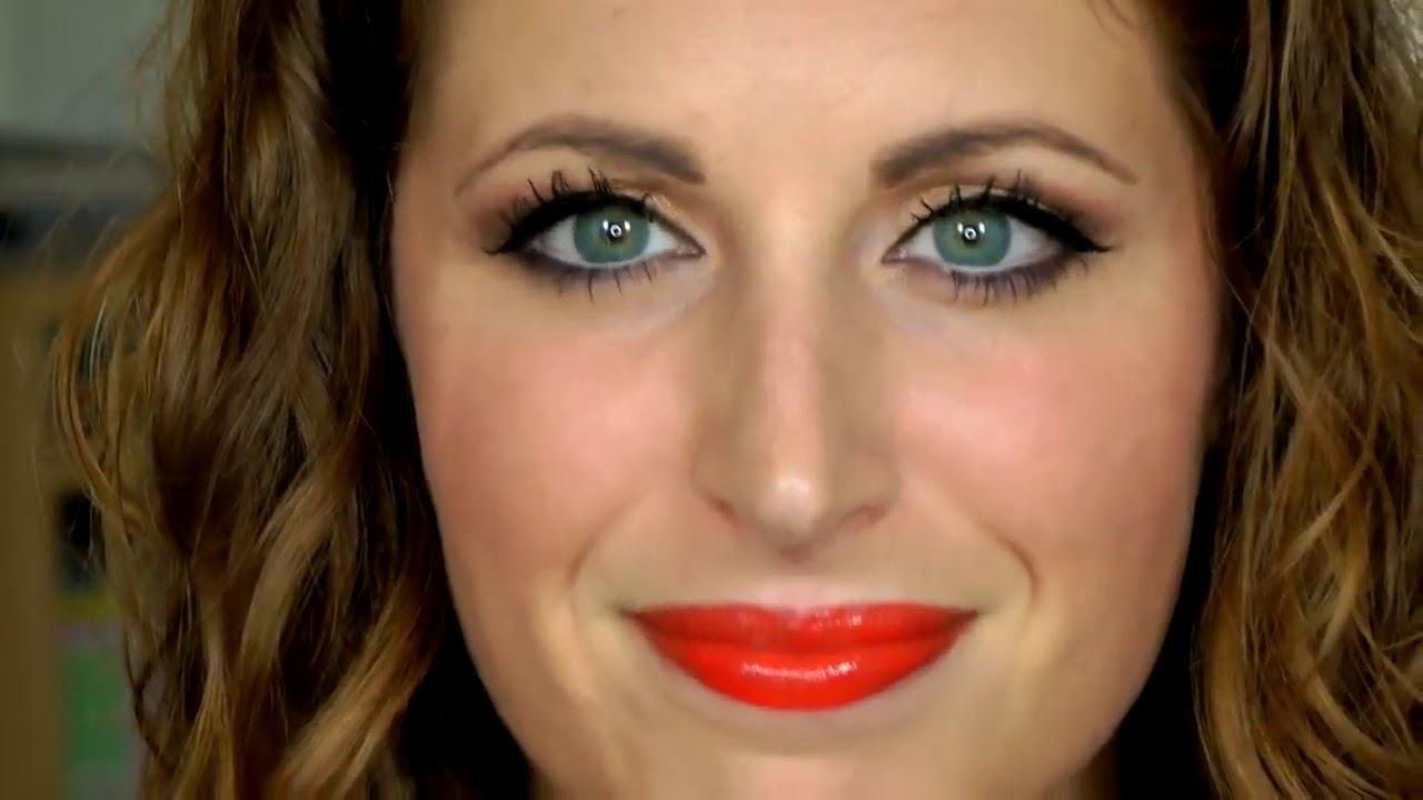 Makeup Tutorial Trucco CORALLO Elegante - YouTube