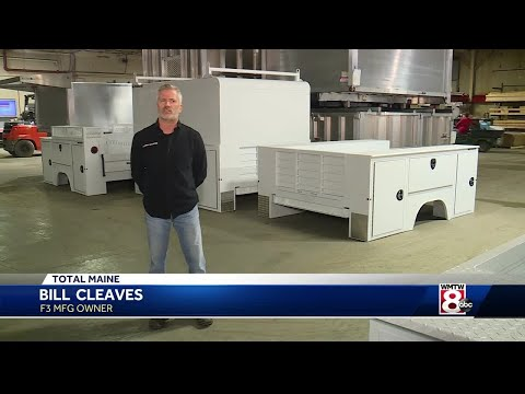 Made In Maine: F3 MFG Manufactures Aluminum Truck Equipment In Waterville