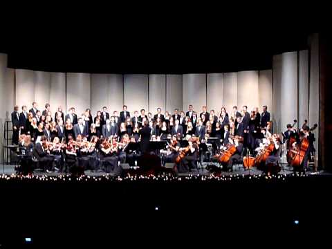 Gilbert High School Choir & Symphony: For Unto Us A Child Is Born