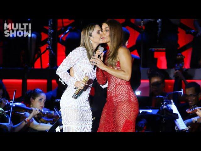 Claudia Leitte e Ivete Sangalo - Não Chore Mais (Ao Vivo) Arena Fonte Nova
