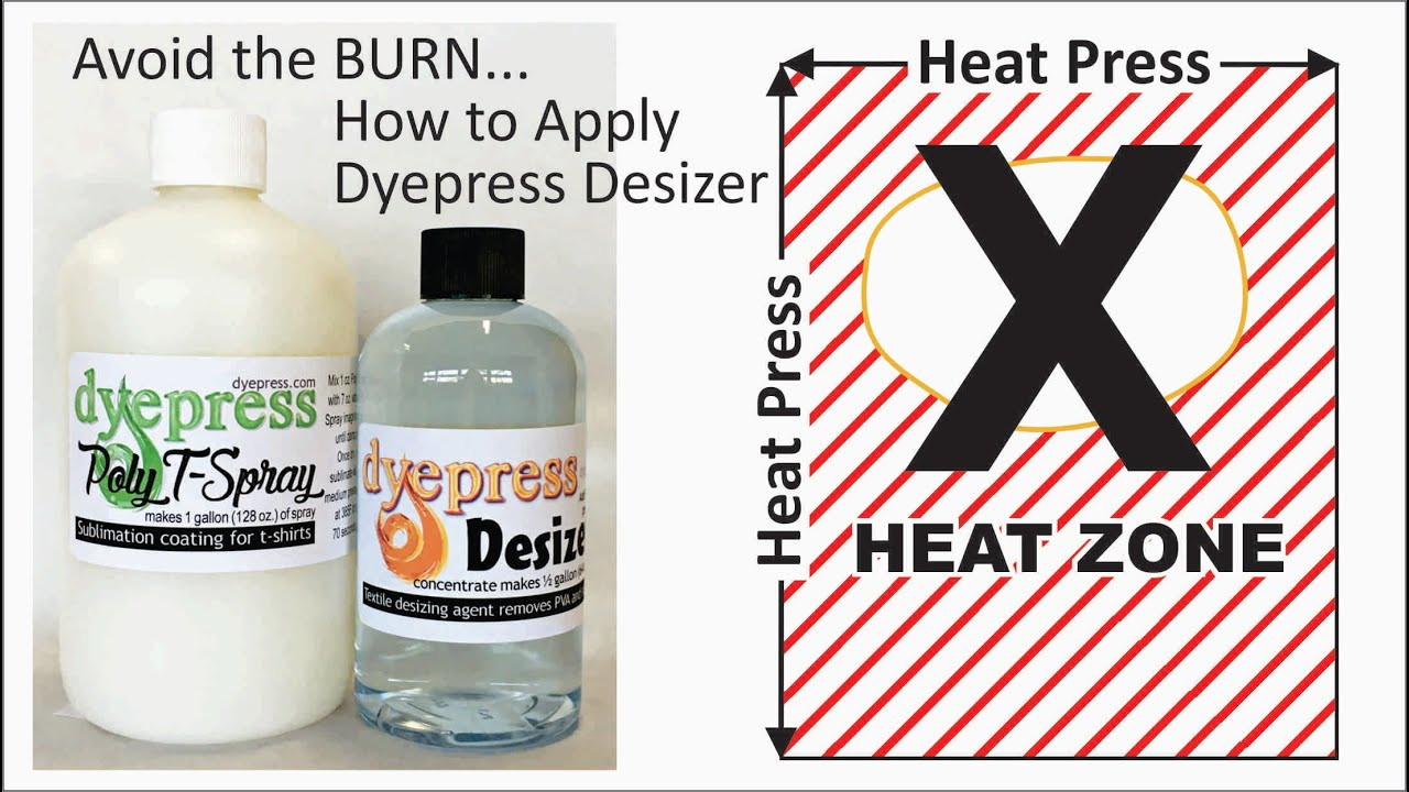 477997742 Poly T-Spray Sublimation Coating for 100% Cotton and Cotton Blends -  DyePress Graphic Supply