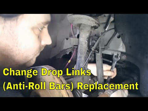 How to replace front Anti-roll bar links (drop links) on a mk3 mondeo