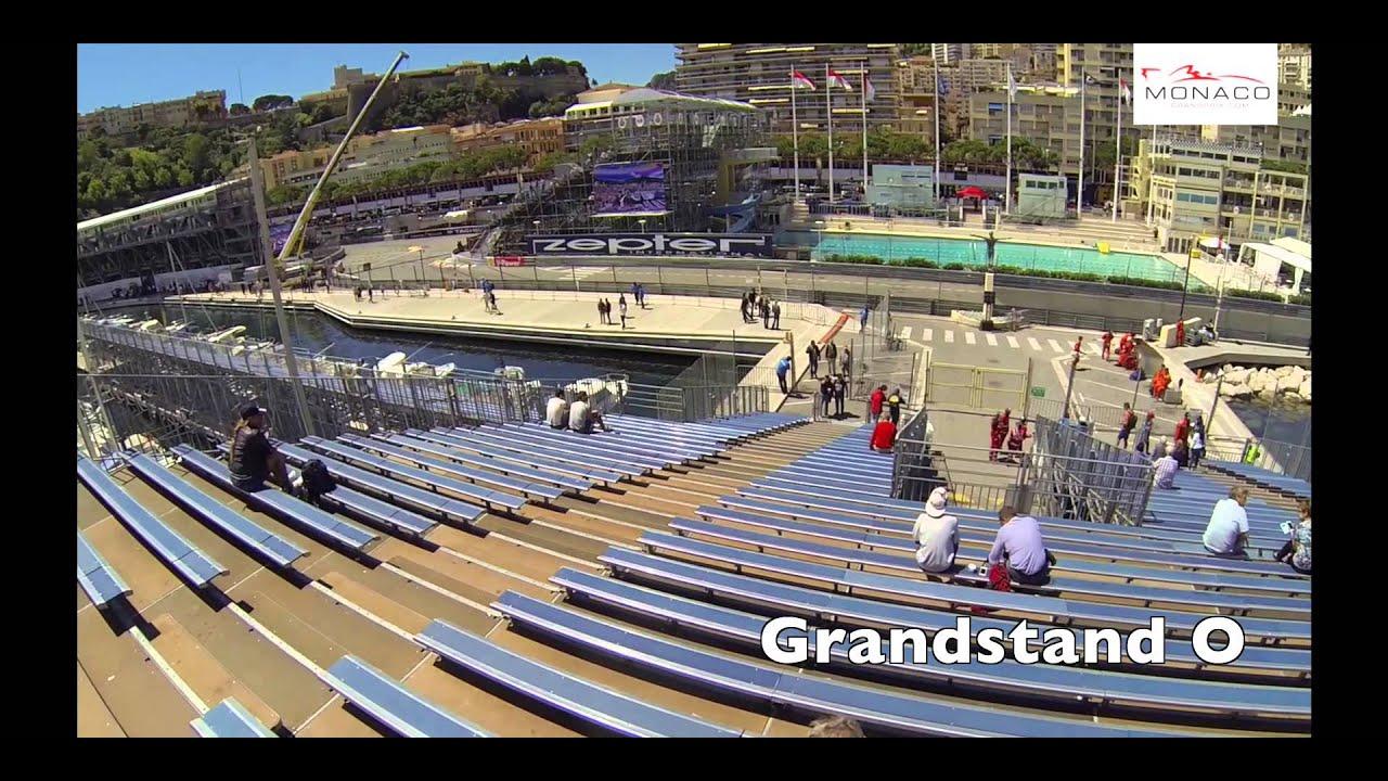 Grandstand O - Monaco-Grand-Prix.com - YouTube