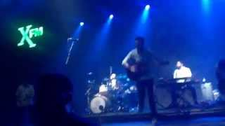 Frank Turner - The Next Storm (New Song) @ XFM Winter Wonderland Brixton Dec 2014