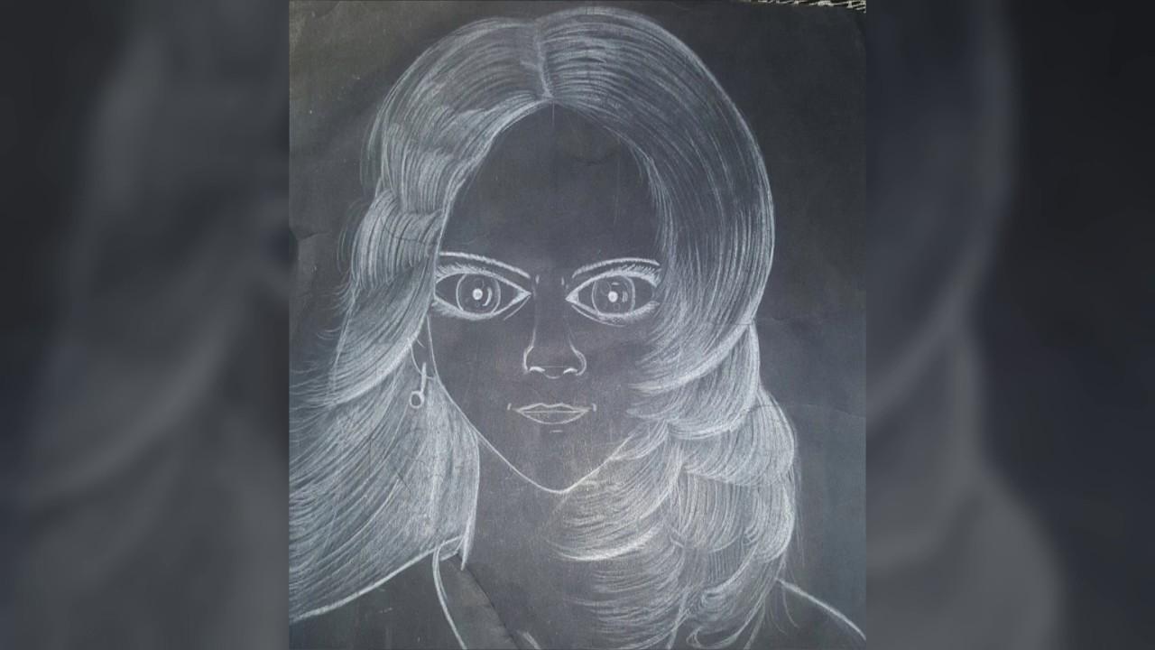 Dibujos en cartulina negra  YouTube