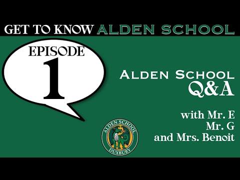 Get to Know Alden | Episode #1: Alden School Q&A