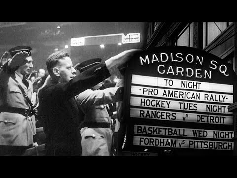 Oscars Film Shows Nazi Rally At Madison Square Garden
