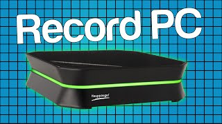 Record PC using the HD PVR 2 (Hauppauge)