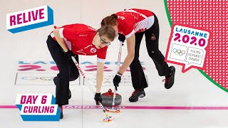 RELIVE - Curling - Russia vs Norway - Semifinals - Day 6 | Lausanne 2020