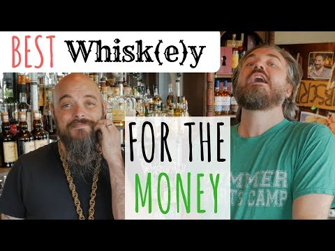 Best Whiskey For The Money [Crowdsourced from Whisk(e)y Lovers]