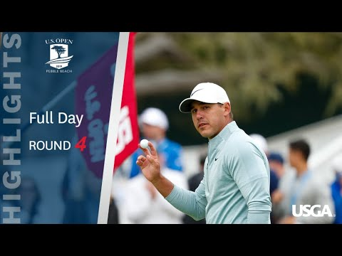 2019 U.S. Open, Round 4: Extended Highlights