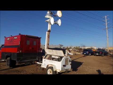 Coleman Engineering MH4000RL light plant for sale | no-reserve Internet auction December 28, 2017