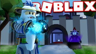 THE WORLDS STRONGEST MAGIC SPELL IN ROBLOX - France Roblox - Simulateur Magique