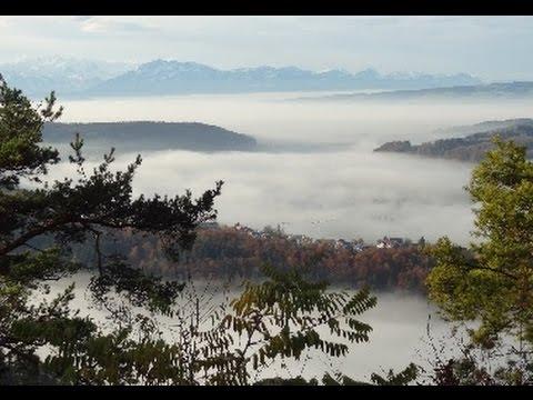 Zurich and Uetliberg Mountain