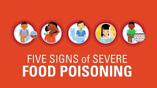 Five Signs of Severe Food Poisoning