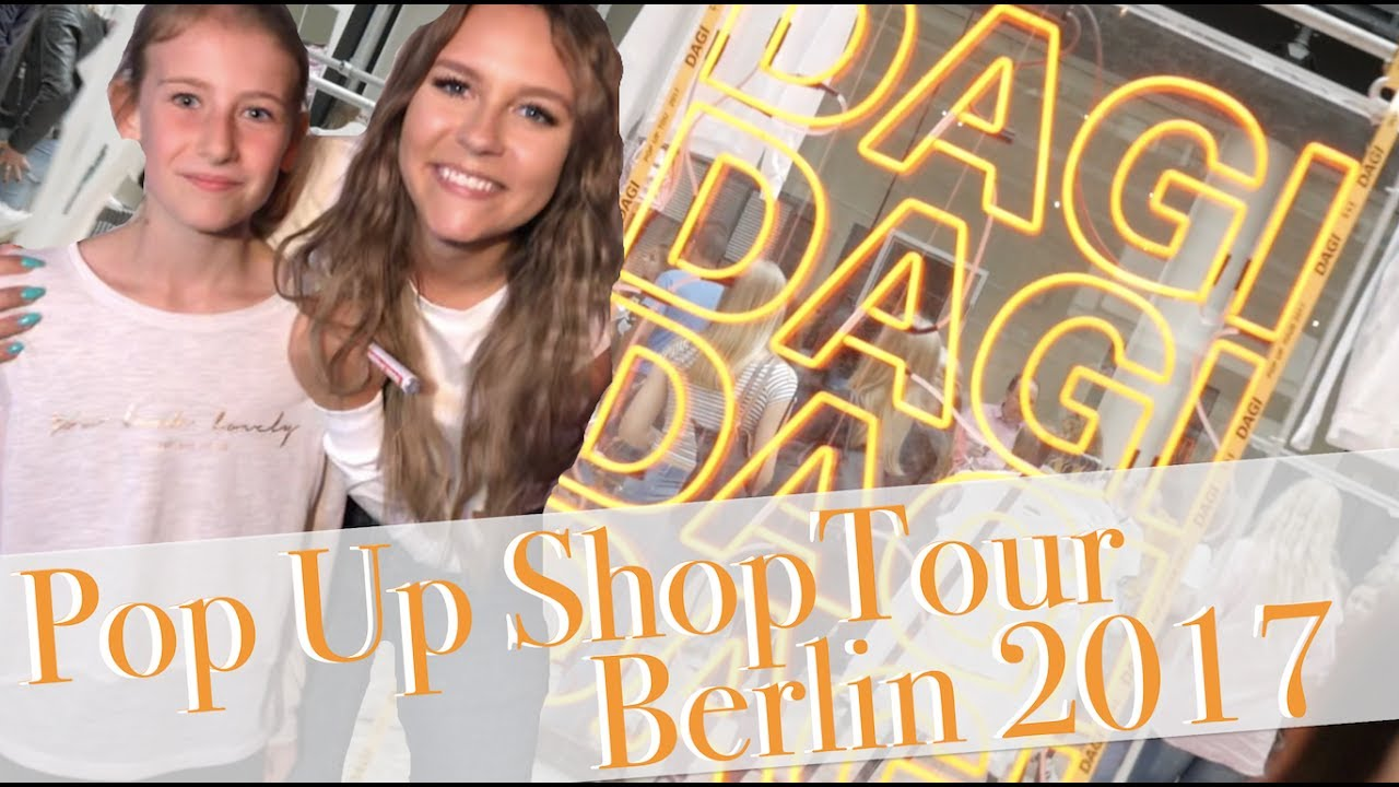 dagi bee beetique pop up shop tour berlin 2017 die. Black Bedroom Furniture Sets. Home Design Ideas