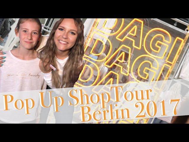 DAGI BEE - BEETIQUE POP UP SHOP TOUR Berlin 2017 | Die Emmy