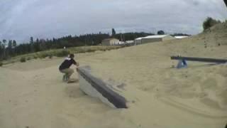 Sandboarding - Florence  - Oregon - USA