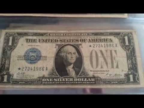 Rarest US 1$ Bill (Small Size) - 1928 Oldest