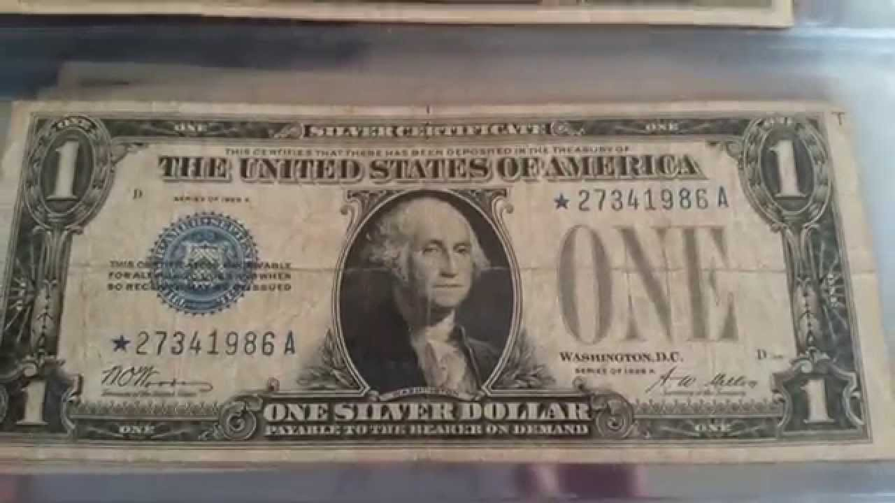 Rarest Us 1 Bill Small Size 1928 Oldest Youtube
