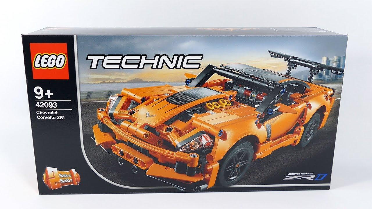 chevrolet corvette zr1 lego technic 42093 youtube. Black Bedroom Furniture Sets. Home Design Ideas