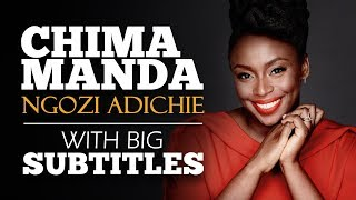 ENGLISH SPEECH | CHIMAMANDA NGOZI ADICHIE: Be Courageous (English Subtitles)
