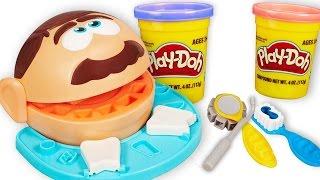 Зубы для Зубастика из Плей До. Видео для детей