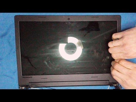 Screen Replacement / Замена экрана (матрицы) 📱 Lenovo Ideapad (100) 100s -15