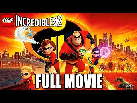 LEGO The Incredibles 2 (2018) FULL GAME MOVIE All Cutscenes @ 1080p HD ✔