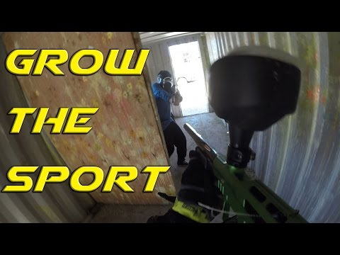 Paintball; how do we grow the sport?