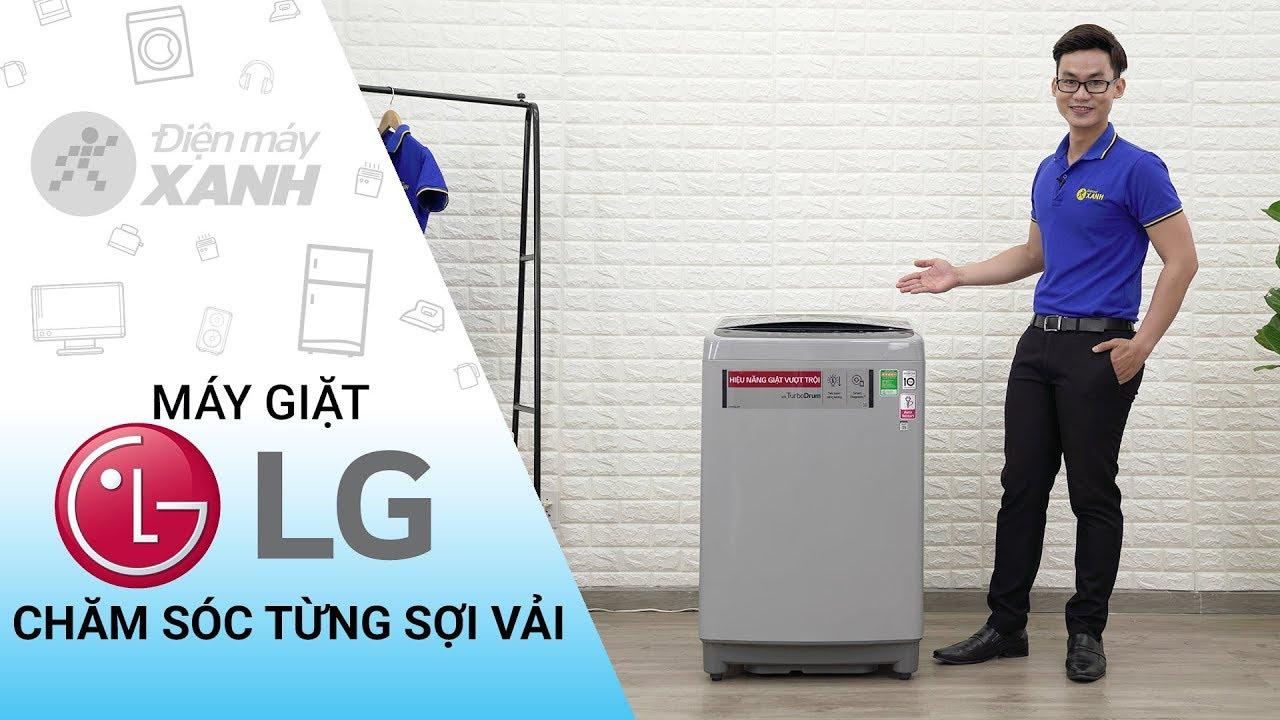 Máy giặt LG Inverter 9,5 kg T2395VS2M – Chăm sóc cho từng sợi vải | Điện máy XANH