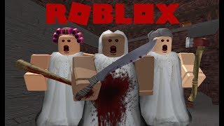 IF GRANNY HAD FRIENDS IN ROBLOX!