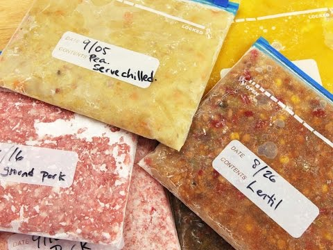 The Best Way to Freeze Food: Longer Shelf Life and Rapid Defrosting