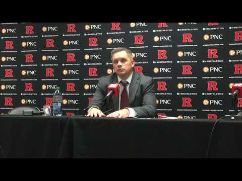 Ohio State coach Chris Holtmann after winning at Rutgers 1-14-18