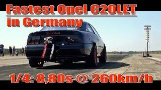 Opel Calibra 2.0L C20LET 1029HP 4Motion 8,80s @ 260kmh