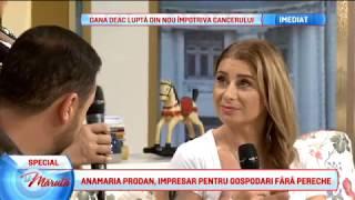Anamaria Prodan, impresar pentru gospodari fara pereche