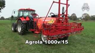 Opryskiwacz polowy Agrola 1000v 15m