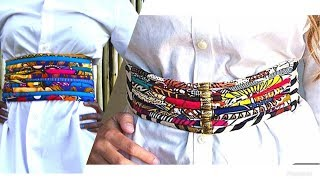 Download Video HOW TO -ROPES BELT African Print Ankara Wax MP3 3GP MP4