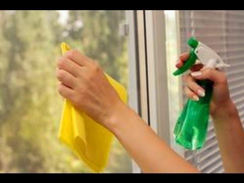 Мытье окон ! Как помыть окна  без разводов  - полезные советы
