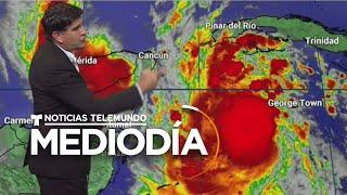 Delta se fortalece a huracán de categoría 4 y avanza hacia el Golfo de México | Noticias Telemundo