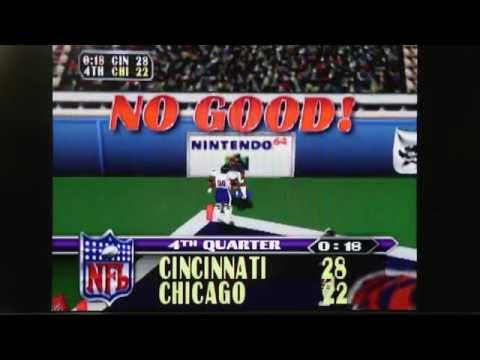 NFL BLITZ N64 Bengals and Bears - Game On!