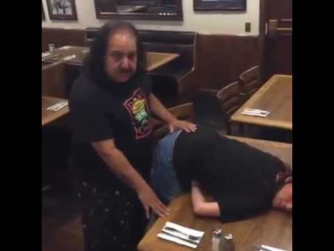 Dinner with Ron Jeremy