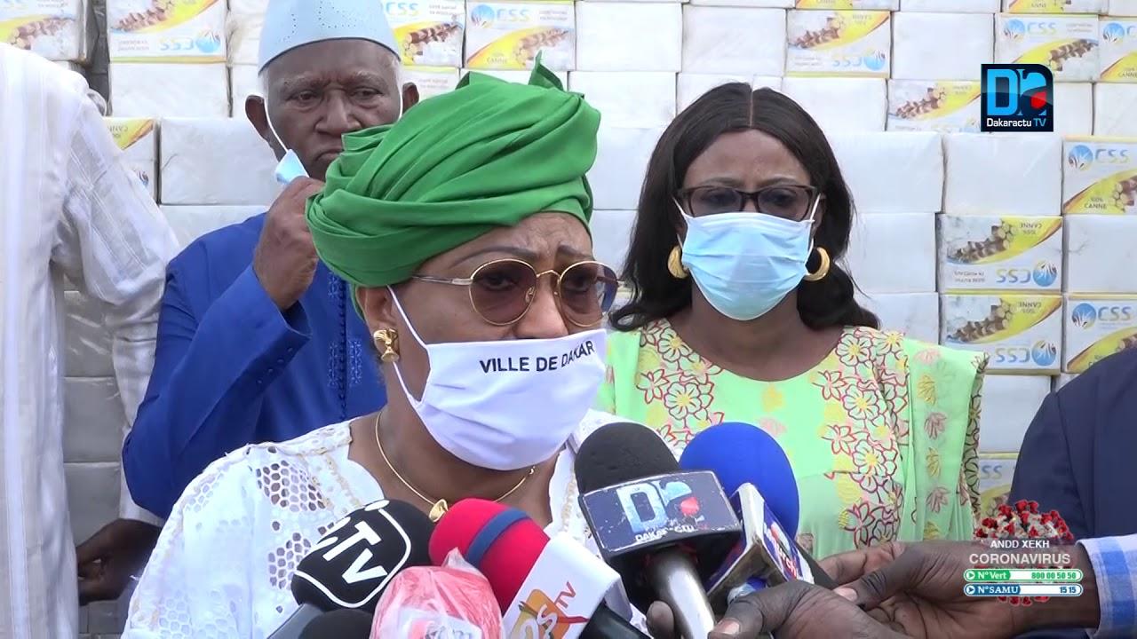 Lutte contre le Covid-19 : La ville de Dakar appuie les 19 communes.