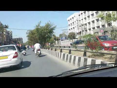 Indore city tour, Mahalaxmi Nagar, Bombay Hospital, satya sai square.