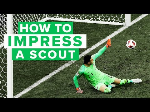 How to impress a goalkeeper talent scout | Tips to becoming a pro football player