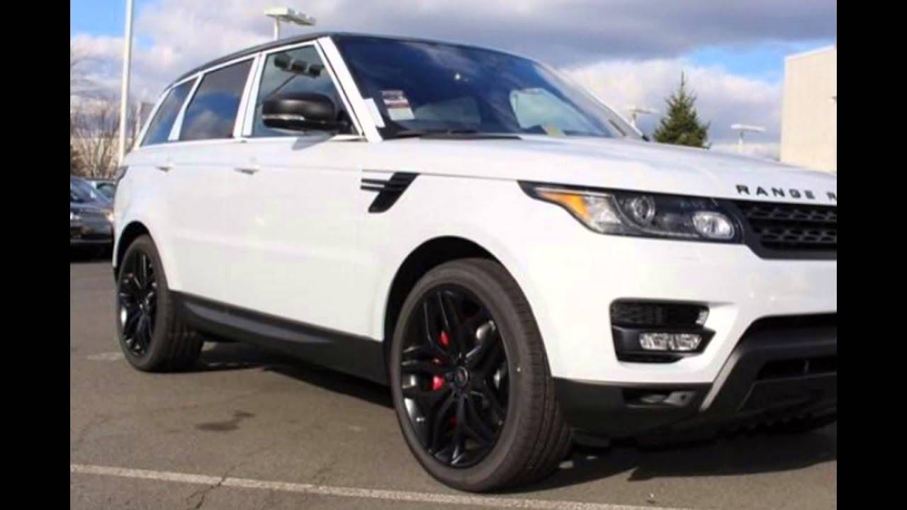 2016 Range Rover Sport Yulong White