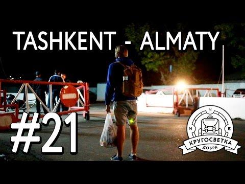 #21 В Казахстан за 7$! Дорога Ташкент - Алматы