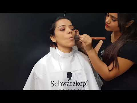 How to do makeup step by step for beginners | Metro saloon bhuj