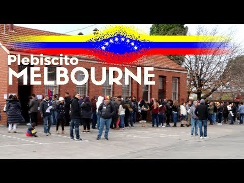 Plebiscite in Melbourne 2017 | Venezuelan Elections