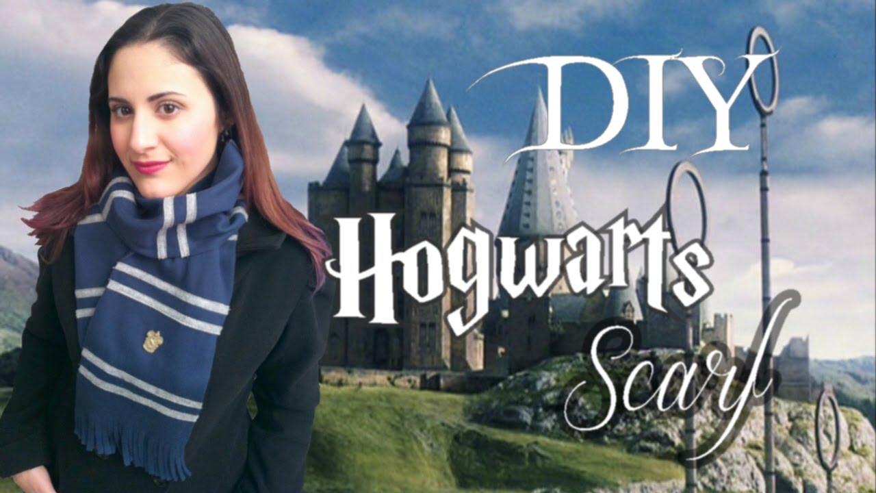 ϟ How To Make a DIY Harry Potter inspired Scarf ϟ - YouTube